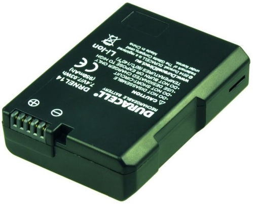 Duracell Premium Battery For Nikon D3100/D3200/D5100/D5200 1150mAh