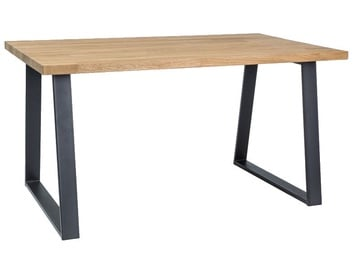 Signal Meble Ronaldo Table 150x90cm Oak/Black