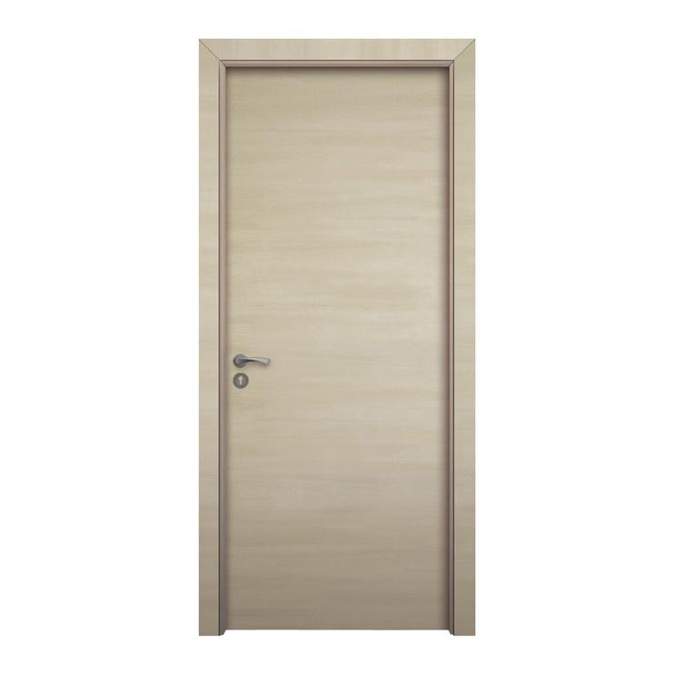 Vidaus durų varčia, balinto ąžuolo, 200x60 cm