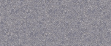 Tapetas flizelino pagrindu Stenova 88297 Ornament, pilkas su sidarbrinėmis gėlėmis, 1.06 m
