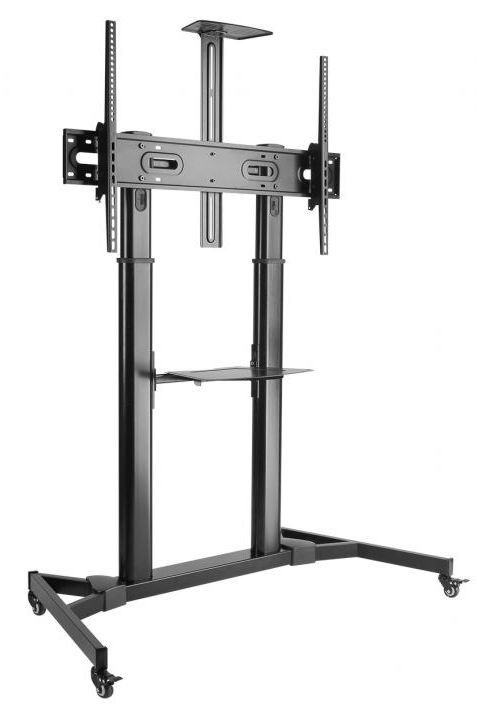Sbox FS-3610 Floor Ultra-Large LED TV Stand Black