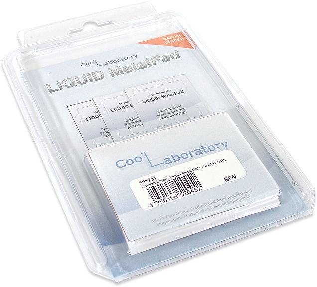CoolLaboratory Liquid MetalPad For CPU Set