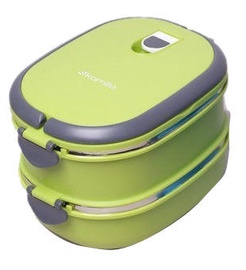 Kamille Lunch Box 1.8L Green 2109