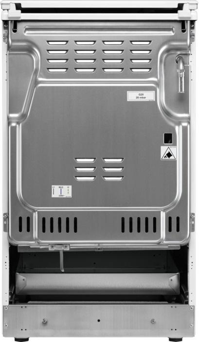Gaasipliit elektriahjuga Electrolux EKK51351OW