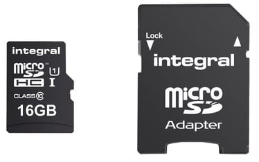 Integral Ultima Pro 16GB Micro SDHC UHS-1 Cl10