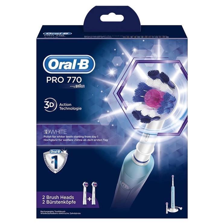 Elektrinis dantų šepetėlis Oral-B PRO D16.513 770 3DW