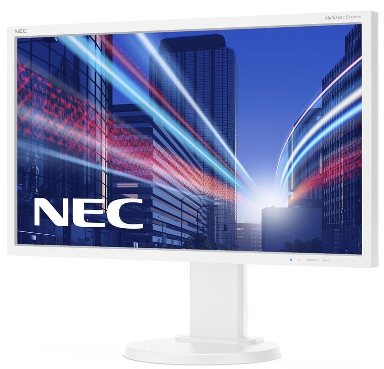 "Monitorius NEC E243WMi White, 23.8"", 5 ms"