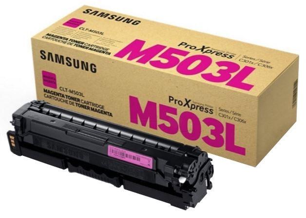 Lazerinio spausdintuvo kasetė Samsung CLT-M503L Toner Magenta