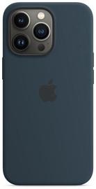 Чехол Apple iPhone 13 Pro Silicone Case with MagSafe, темно-синий