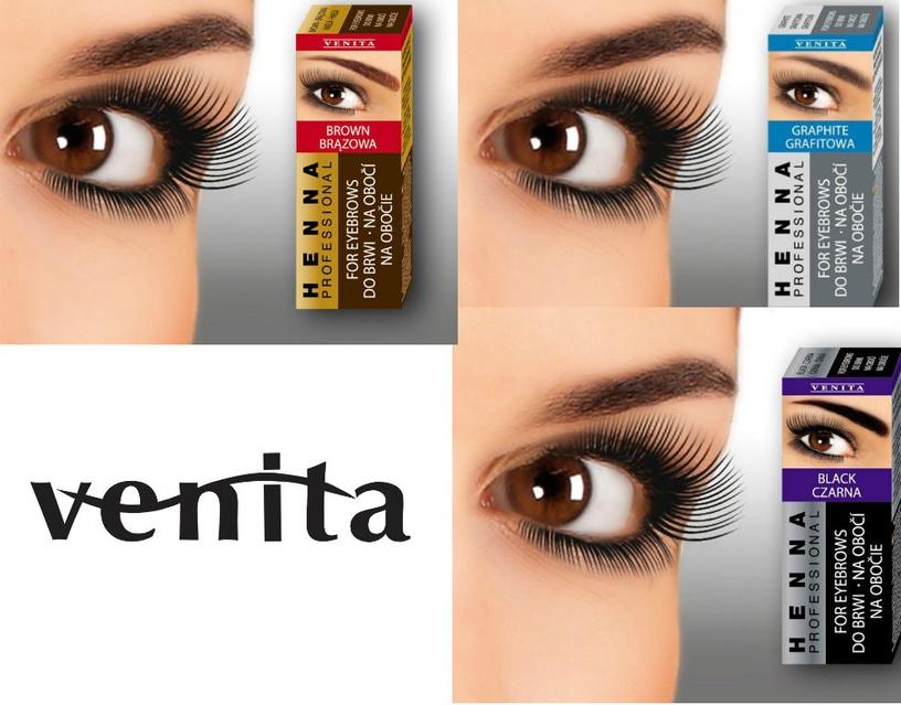 Venita Paint For Eyebrows 15g Graphite