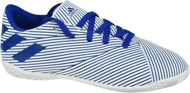 Adidas Nemeziz 19.4 IN Junior Shoes EF1754 Blue/White 30