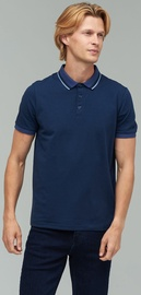 Audimas Stretch Polo T-shirt 2021-479 Navy Blue S