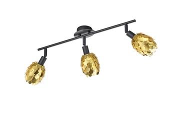 Kryptinis šviestuvas Reality Choke R80583079, 3 x 9 W, E14