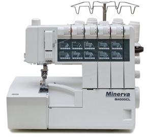Šujmašīna Minerva M4000CL, overloks
