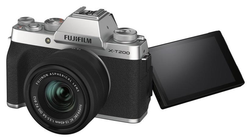 Fujifilm X-T200 + 15-45mm Lens Silver