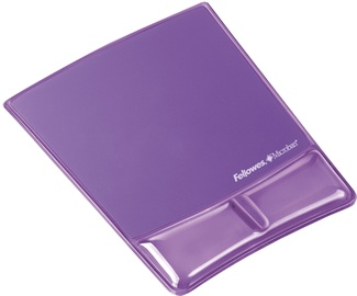 Fellowes Mouse Pad / Wrist Support Purple 9183501
