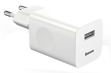 Baseus USB Quick Wall Charger White