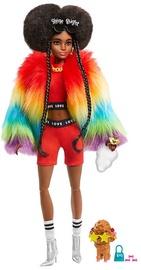 Кукла Barbie Extra Rainbow Coat With Poodle GVR04
