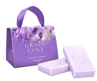 Grace Cole Soap 2 x 75g Lavender & Camomile