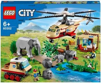 Конструктор LEGO City Операция по спасению зверей 60302, 525 шт.