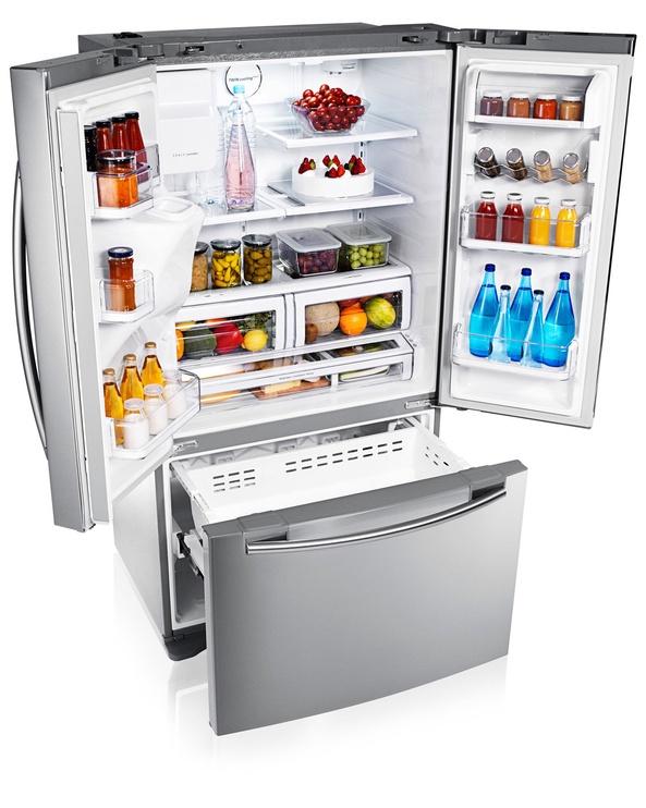 Šaldytuvas Samsung RFG23UERS1/XEO