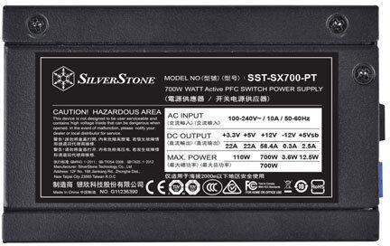 Silverstone SX700-PT 700W