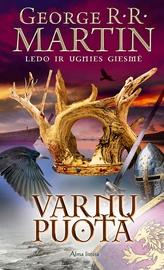 """Knyga Varnų puota. """"Ledo ir ugnies giesmė"""" 4 knyga"""