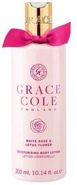 Grace Cole Moisturising Body Lotion 300ml White Rose & Lotus Flower