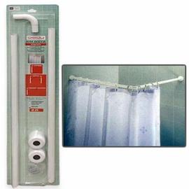 Vonios užuolaidų karnizas Gedy 938080, 80 x 80 x 2,5 cm, baltas