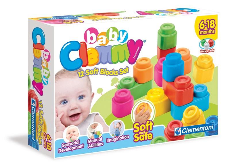 Mänguklotsid Baby Clemmy