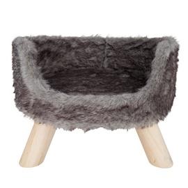 Кровать для животных VLX Nordic, серебристый, 400 мм x 400 мм