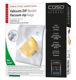 Vakuumavimo maišeliai Caso 01317, 26x23 cm, 20 vnt.
