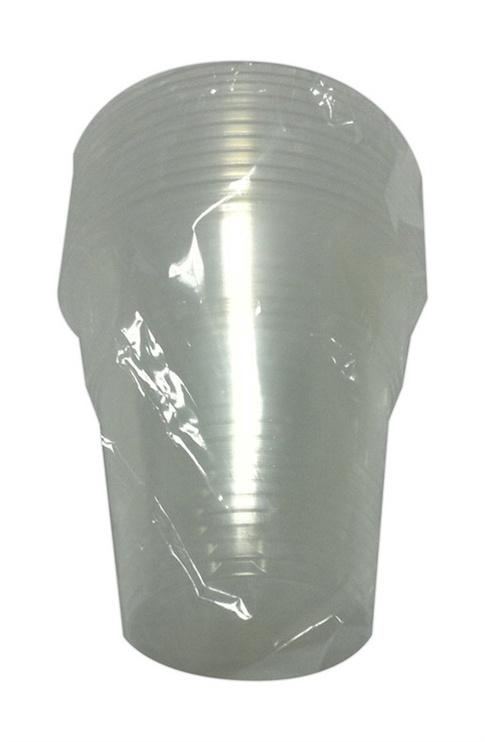 Vienkartinių stikliukų komplektas, 100 ml, 10 vnt
