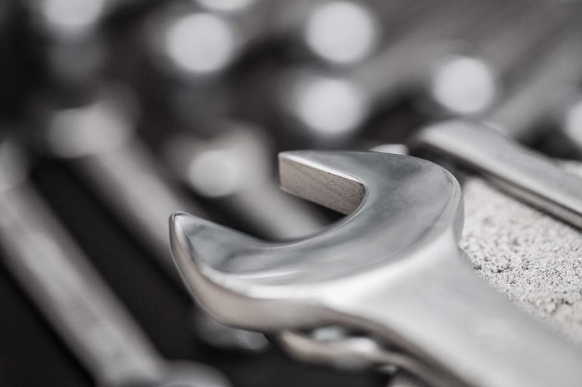 Uzgriežņu atsl. komb. ar rev. meh. Forte Tools 432-2016, 16x16 mm
