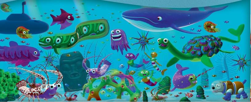 Bestway 57244 3D Adventure Pool