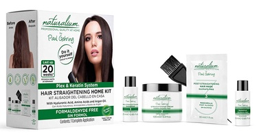 Naturalium Hair Straightening Home Kit