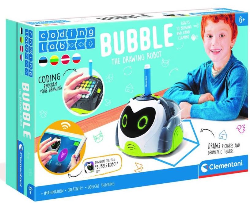 Žaislinis robotas Clementoni Bubble 50340