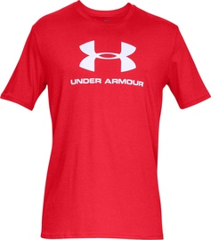 Under Armour Sportstyle Logo Tee 1329590-600 Red XL