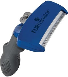 Furminator Short Hair Large Breed Dog Blue