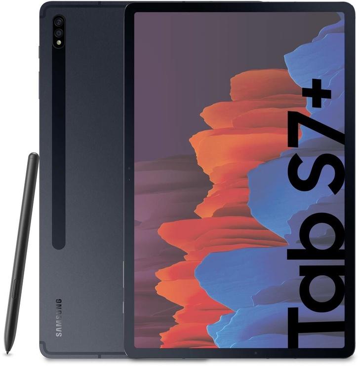 Planšetė Samsung Galaxy Tab S7+ 12.4, juoda, 6GB/128GB