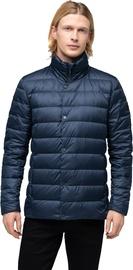 Audimas Lightweight Puffer Down Jacket Navy Blue XL