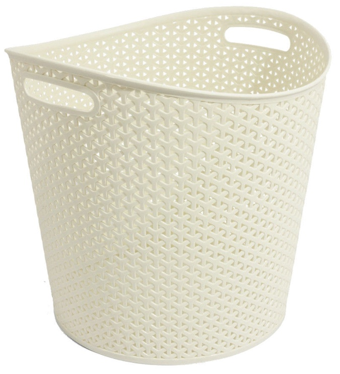 Curver My Style 30l Round Basket Cream