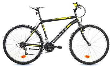 "Velosipēds Bottari Good Bike 77214 Black/Yellow, 26"""