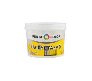Krāsa fasādēm Pentacolor Acryl Fasad, 10 l, balta