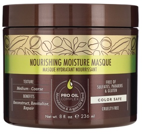 Kaukė plaukams Macadamia Nourishing Moisture, 236 ml