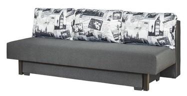 Sofa-lova Bodzio Afrodyta Graphite London 2, 200 x 88 x 71 cm