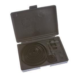 Medienos gręžimo karūnų komplektas Vagner SDH VG054, 19-127 mm, 16 vnt.