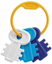 Chicco Teething Key Ring Blue