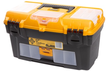 Forte Tools RLO-17 Toolbox 434x238x250mm Black/​Yellow