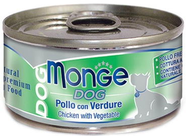 Monge Dog Chicken With Vegetable 95g